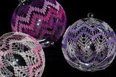 Christbaumkugel (Lilithiel) Tags: weihnachten christbaumkugel bobbinlace klppeln handarbeit