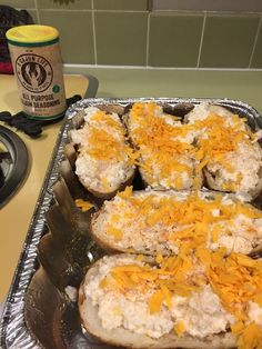 Twice baked potatoes never tasted so good!