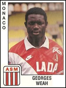 Friday Flashback: 20 Magnificent Assorted Vintage Football Stickers – Vol Best Football Players, World Football, Football Kits, Football Soccer, As Monaco, Football Stickers, Football Cards, Fifa, George Weah