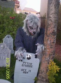 Peter Stubbe and his stone Halloween Forum, Site Photo, The Revenant, Werewolf, Halloween Decorations, Las Vegas, Death, Album, Times