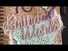 Triple the Scraps: A Birthday Book with {Video}. See blog for complete details. :)