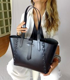 Items similar to Leather Tote Bag Black - Leather Handbag - WomenLeather Bag - Leather Shopper Bag - Leather Shoulder Bag on Etsy, , Black Leather Tote Bag, Brown Leather Totes, Black Leather Handbags, Leather Shoulder Bag, Patent Leather, Brown Handbags, Soft Leather, Designer Leather Handbags, Luxury Handbags