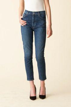 CITIZENS OF HUMANITY Avedon Ultra Skinny Denim Jeans Montauk Blue $218 #102