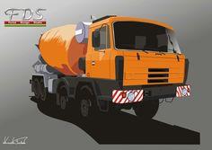 Tatra 815 Concrete mixer 8x8.2