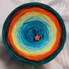 Nr. 151: Hochbausch 10 Farben Mix: türkis helltürkis aqua eisblau hellgelb vanille bronze orange braun petrol