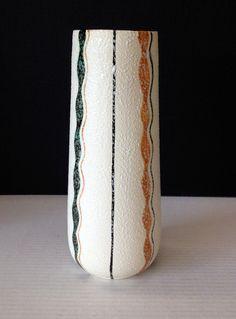 VTG Mid Century Modern Tall Pottery Vase Gambone by post50modern