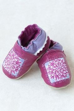Dahlia Soft Sole Baby Shoes Made in USA