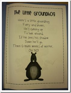 Groundhog's Day poem