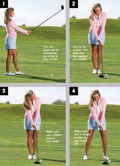 Golf Putting Tips, Best Golf Clubs, Girls Golf Clubs, Golf Videos, Golf Instruction, Golf Tips For Beginners, Golf Exercises, Workouts, Perfect Golf