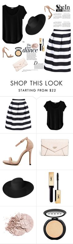 """""""Shein 2/10"""" by mell-2405 ❤ liked on Polyvore featuring Cosabella, Anja, GUESS, Dorfman Pacific and LORAC"""