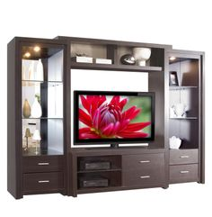 contemporary cabinets entertainment center | Contemporary Modern ...