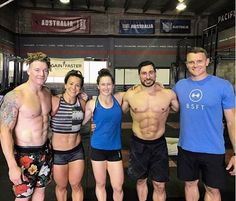 The WOD Life athlete @Jamesnewbury is in Brisbane this weekend training with the Australia team in the lead up to the @Crossfit invitational.  What a team it is! : @crossfitroar
