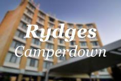 Rydges Camperdown Travel News, Business Travel, Sydney, Company Logo