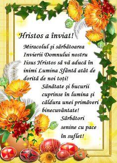 Happy Easter, Romania News, Plants, Sf, Motto, Easter Activities, Happy Easter Day, Plant, Mottos