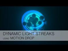 Cinema 4D+AE Tutorial - Dynamic Light Streaks with Motion Drop - YouTube