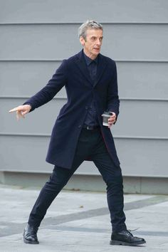 Doctor Who: Pictures of Peter Capaldi filming latest scenes in Cardiff - Wales Online