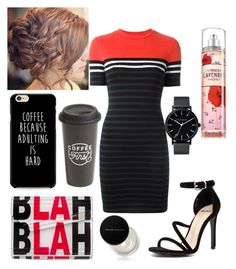 """""""☕"""" by mikayla-burgess ❤ liked on Polyvore featuring T By Alexander Wang, Mollini, Jimmy Choo, Kevyn Aucoin, The Created Co. and The Horse"""