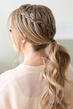 Double Waterfall Ponytail | MISSY SUE