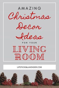 Amazing Christmas Decor Ideas For Your Living Room Check out these 50+ ideas for decorating your living room for the Christmas Holidays! Boho Christmas Decor / Farmhouse Christmas Decor / Diy Christmas Decor Ideas #christmasdecor #christmasprintable #christmasdiy