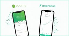 Robinhood and Acorns are two innovative fintech companies that offer investing and trading services, find out which one is best for you. In the following review, we will take a closer look at how both platforms work and what they have to offer so you can make an informed decision on which best fits your needs. Investing Apps, Investing For Retirement, Stock Market Investing, Investing In Stocks, Ways To Save Money, Money Saving Tips, How To Make Money, Financial Goals, Financial Planning