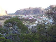 L'abitato di El Chalten - Provincia di Santa Cruz - Argentina