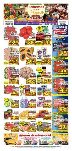 El Rancho Weekly Ad September 28 - October 4, 2016 - http://www.olcatalog.com/grocery/el-rancho-weekly-ad.html