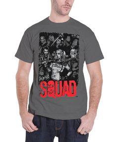 Suicide Squad T Shirt Mens Joker Ha Ha new Official DC Comics Grey