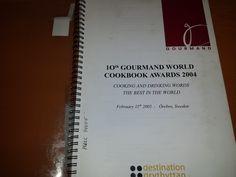 Título: Gourmand World Cookbook Awards 2004  / Ubicación: FCCTP – Gastronomía – Tercer piso / Código:  G/INT/ 016 G 2005