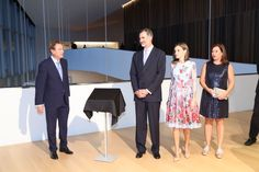 King Felipe and Queen Letizia attended Inauguration of the new palace of congresses of Palma sept. 25, 2017