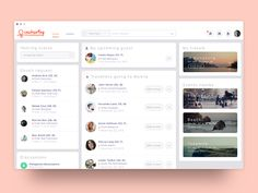 Couchsurfing   - Homepage #1 (UI Redesign)