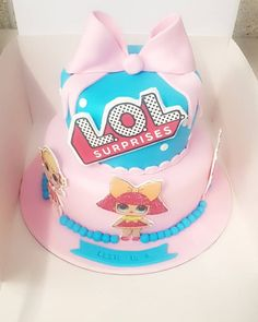 LOL surprise cake for a special 6th Birthday hidden LOL inside #lolsurprise #loldoll #loldollcake #6thbirthday #cake #airyfairy #manchester #lolsurprisedolls
