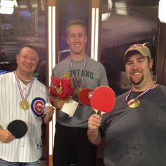 KARK 4 Today Olympic Table Tennis Winners! Reporter Josh Berry won gold!