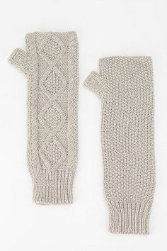 Pins and Needles Cable Arm Warmer - Urban Outfitters, arm warmer, winter