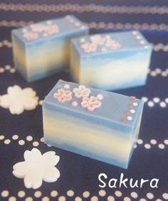 桜ソープ、なぜか杏の香り |横浜・元町中華街駅 手作り石けん教室 With Flowers