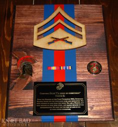 Being a NCO and an officer in the US Marine Corps is one of the highest levels of prestige. Show off your rank and awards with this affordable, Marine Corps Memes, Us Marine Corps, Once A Marine, My Marine, Usmc, Marines, Shadow Box Display Case, Military Shadow Box, Military Crafts