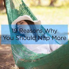 19 razones científicas por las que deberías tomar más siestas