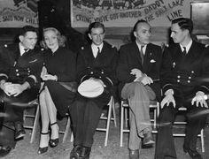 Marlene Dietrich & Charles Boyer @ Hollywood Canteen. 1943
