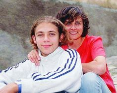 Vale and his mother