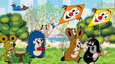 Krteček a drak La Petite Taupe, Ghost Of Tsushima, Kids Tv, Cartoon Kids, Mole, Draco, Vintage Children, Czech Republic, Childhood