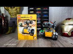 樂高 LEGO 瓦力改遙控 Wall-E 21303 - RC Motorized Wall-E r - YouTube