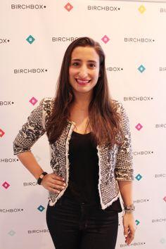 Hayley Barna, confundadora de Birchbox en la presentación de la colección de esmaltes de Color Club de Gala González en Madrid.