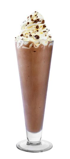 The more chocolate, the better, right? #FoodWellBuilt #Dessert #Milkshake www.stacked.com