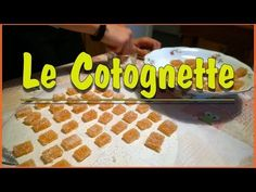 Cotognette, gelatine di mela cotogna - For Lilium Biscotti, Make It Yourself, Youtube, Canning, Youtubers, Biscuits, Youtube Movies