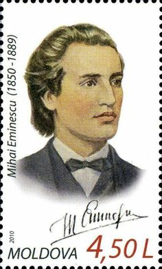 Mihai Eminescu (1850-1889). Poet 15 Ianuarie, Postage Stamp Art, Interesting Reads, Stamp Collecting, Lazy, Countries, Collection, Moda Masculina, World