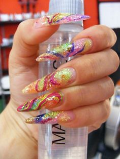 Who in the hell wants nails like this???
