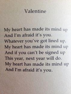 Wendy Cope poem