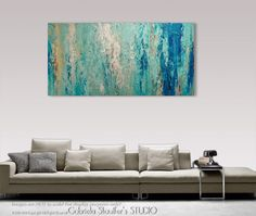 Palette Knife Painting, Modern Painting, Art, LARGE Painting, Wall decor, Wall Art, Canvas Art, Acrylic painting, Art by Gabriela by Catalin on Etsy https://www.etsy.com/listing/485893088/palette-knife-painting-modern-painting