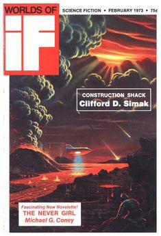 If ~ 1973 02 Sci Fi Books, Popular Art, Science Fiction, Book Art, World, Movies, Movie Posters, Illustrations, Art