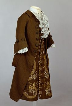 1700 clothing | Historical Clothing 1700's / Boy's coat and ...