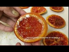 Naranjas CRISTALIZADAS A mi MANERA - YouTube